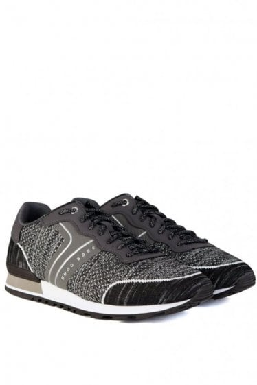 Hugo Boss Green Parkour_Runn_sykn Sneakers Grey