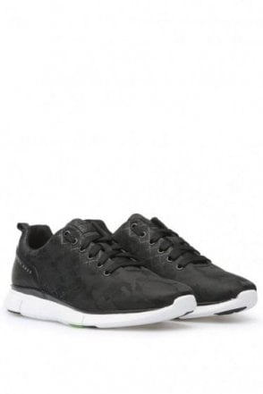 Hugo Boss Gymk Runn Nyjq Trainers Black