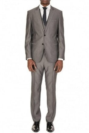 Hugo Boss Harrington Suit Grey