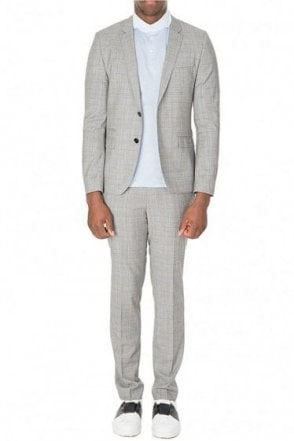 Hugo Boss Heibo 3 Suit Grey
