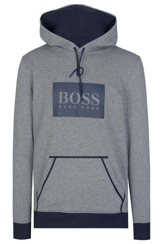 8cc9188d8 BOSS Hugo Boss Heritage Combination Hooded Sweatshirt - Clothing ...