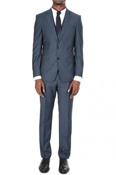 Hugo Boss Hevans/Gill 3 Peice Suit Blue