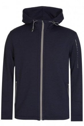 Hugo Boss Hooded Jacket Navy