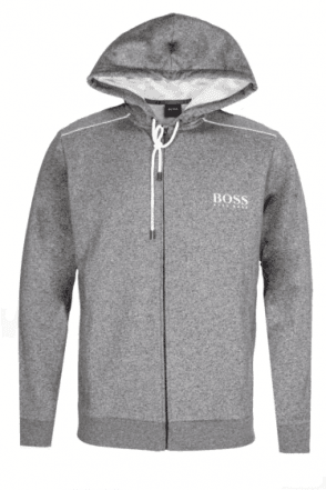 Hugo Boss Hooded Sweatshirt Grey