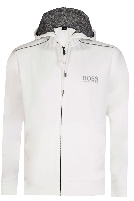 46a57f2c1 Hugo Boss Hooded Sweatshirt White
