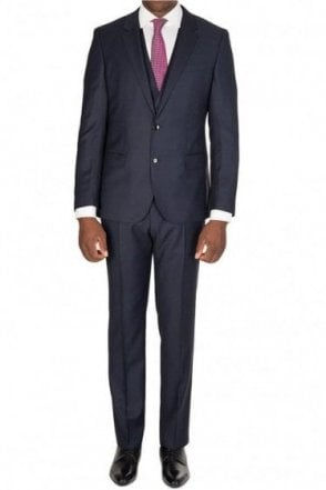 Hugo Boss 'Huge4/ Genius 3' Suit Navy