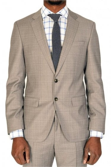 Hugo Boss Huge5/Genius3 Suit Grey