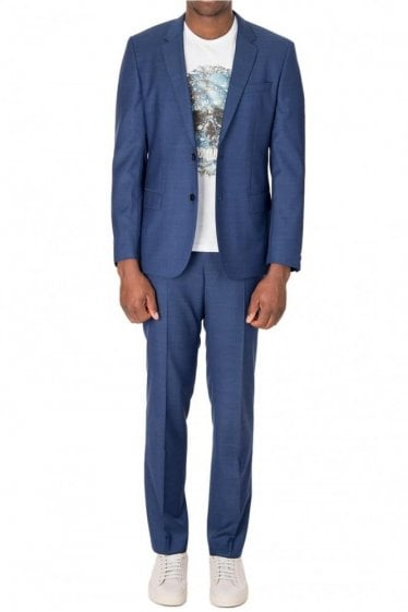 Hugo Boss Hugh4/Genius3 Suit Blue