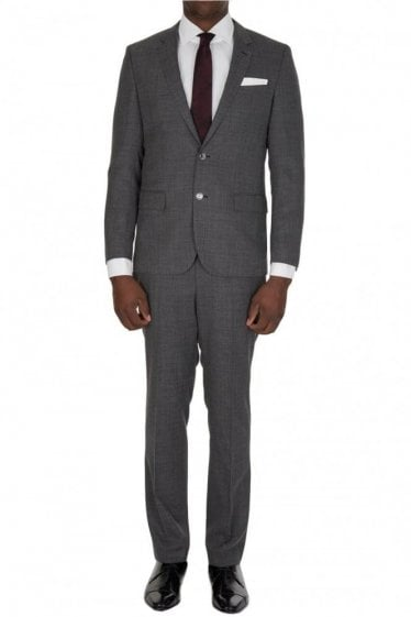 Hugo Boss Hutson2 Gander Suit Grey