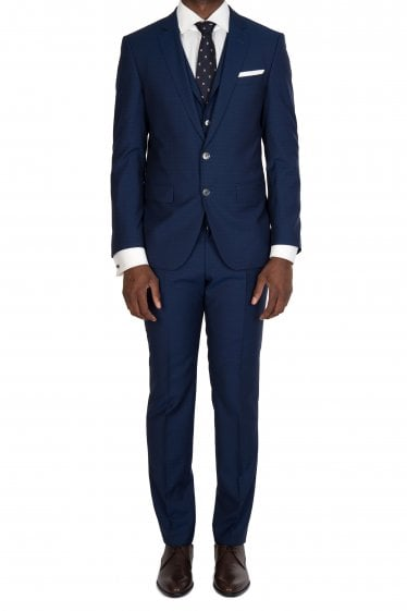 Hugo Boss Hutson5/Gander3 WE Suit Navy