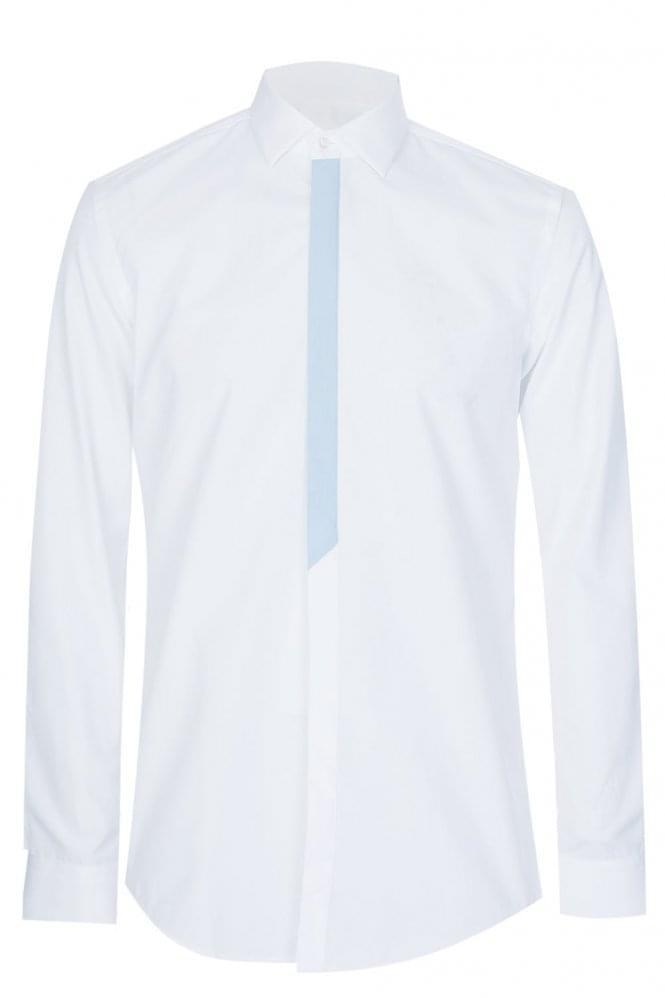 Hugo Boss Icarus Slim Fit Cotton Shirt White