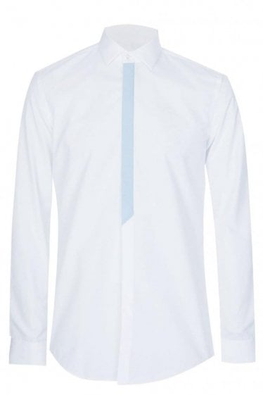Hugo Boss Icarus Slim Fit Cotton Shirt White