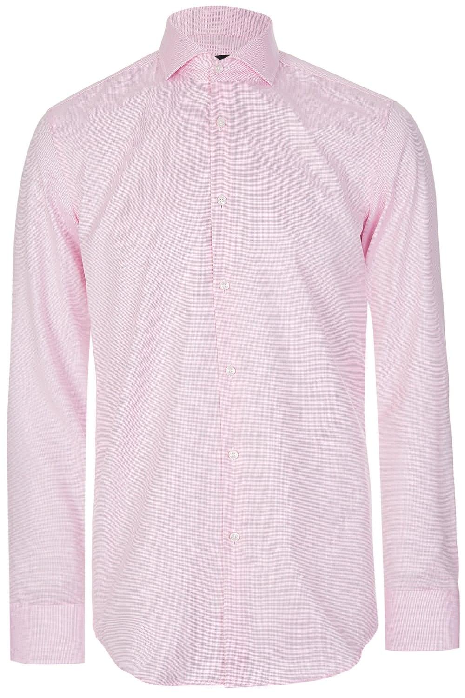 734968f0 BOSS Hugo Boss Jason Shirt Pink - Clothing from Circle Fashion UK