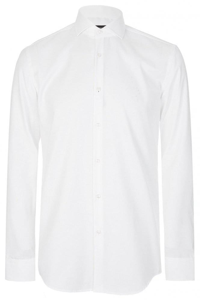 Hugo boss hugo boss jason shirt white hugo boss from for Hugo boss jason shirt