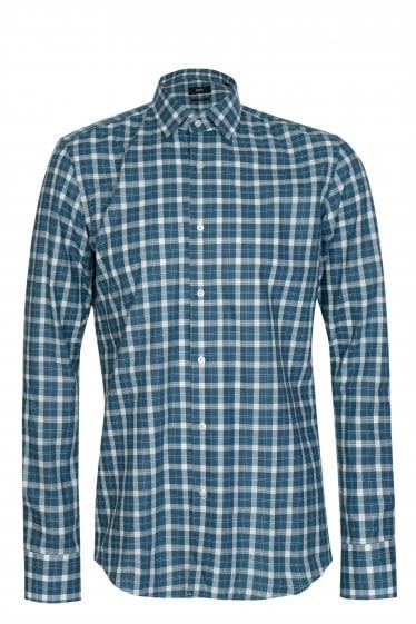 Hugo Boss Jenno Checked Slim Fit Shirt