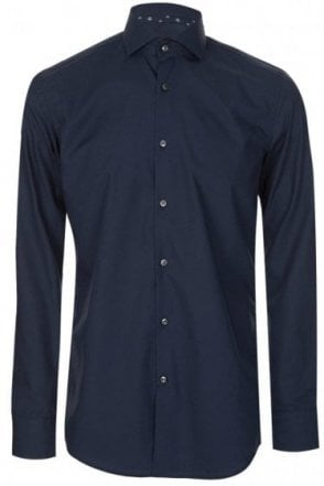 Hugo Boss Jery Navy Slim Fit Shirt