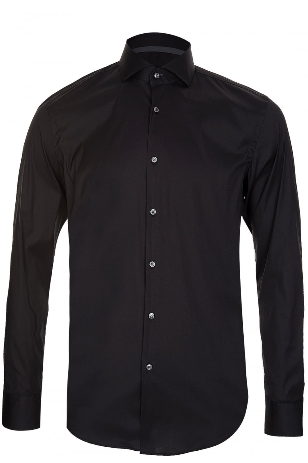 hugo boss hugo boss jery shirt black hugo boss from circle fashion uk. Black Bedroom Furniture Sets. Home Design Ideas