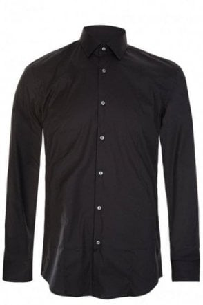 Hugo Boss 'Jilip' Slim Fit Shirt Black