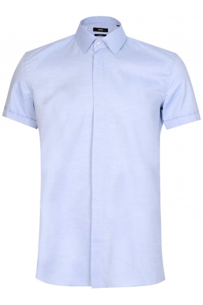 HUGO BOSS Jill Shirt Applique Blue