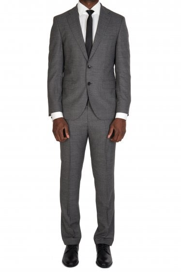 Hugo Boss Johnstons5/Lenon1 Grey Suit