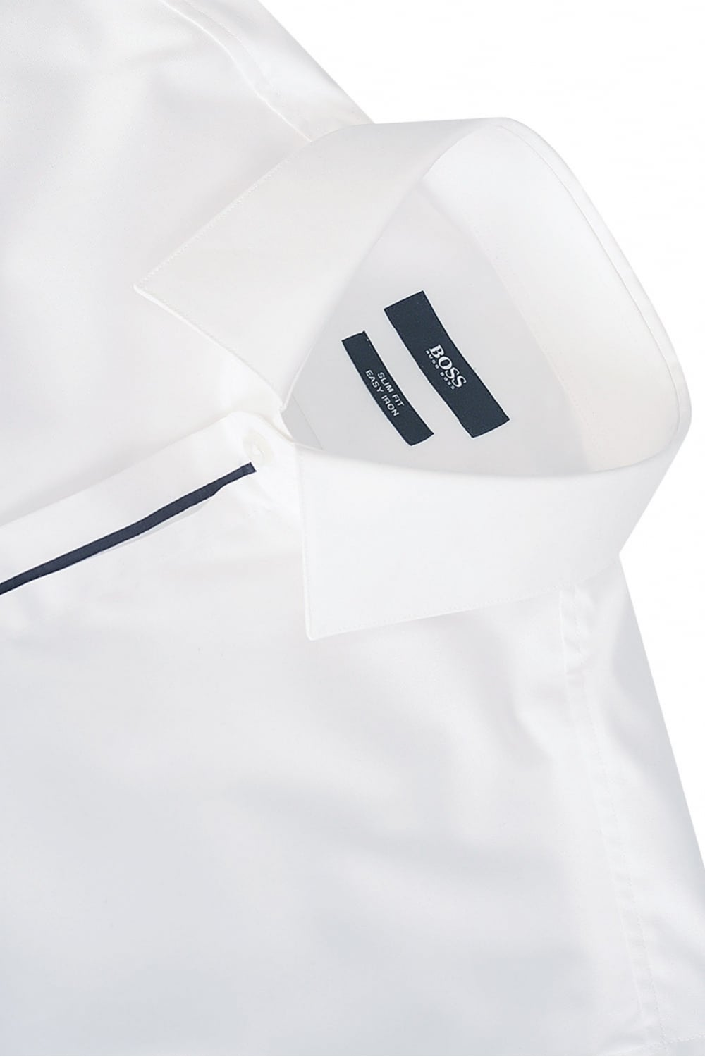 0a339f045 Buy hugo boss white collar shirt - 57% OFF! Share discount