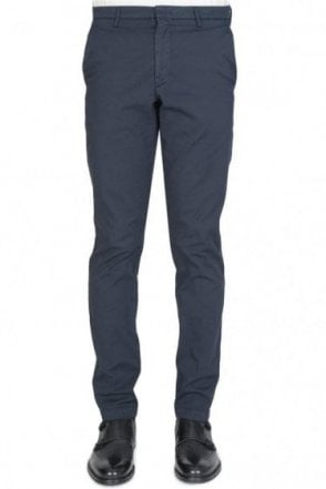 Hugo Boss Kaito3-D Slim Fit Chinos Navy