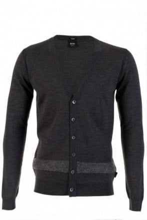Hugo Boss Narcel Merino Wool Cardigan