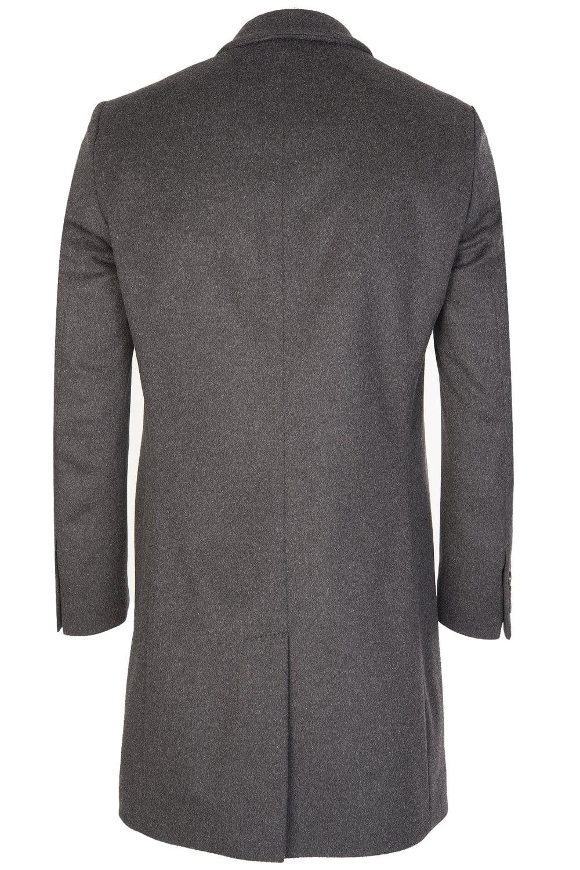 649d563ae7ea Hugo Boss NYE Wool Coat Charcoal