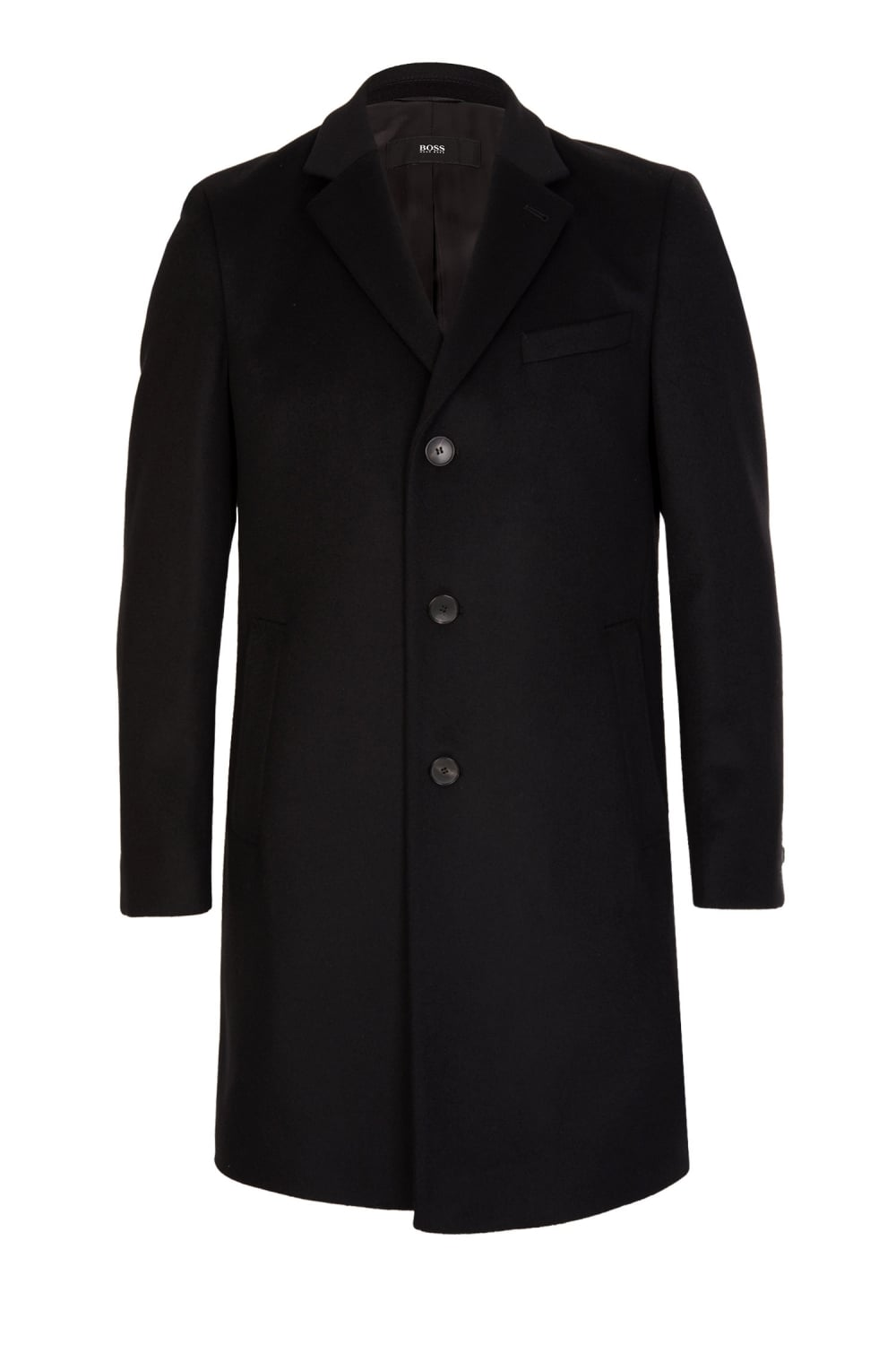 5e1b58ad6bd Hugo Boss NYE1 Coat Black