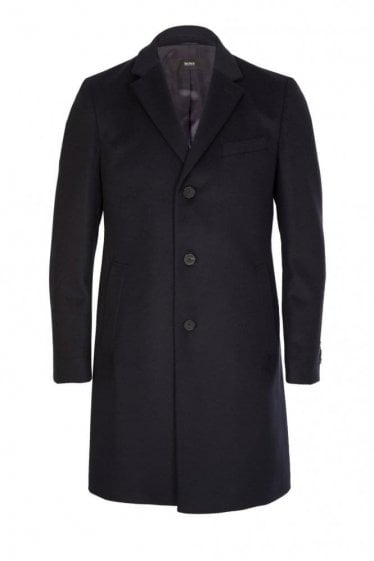 Hugo Boss NYE1 Coat Navy