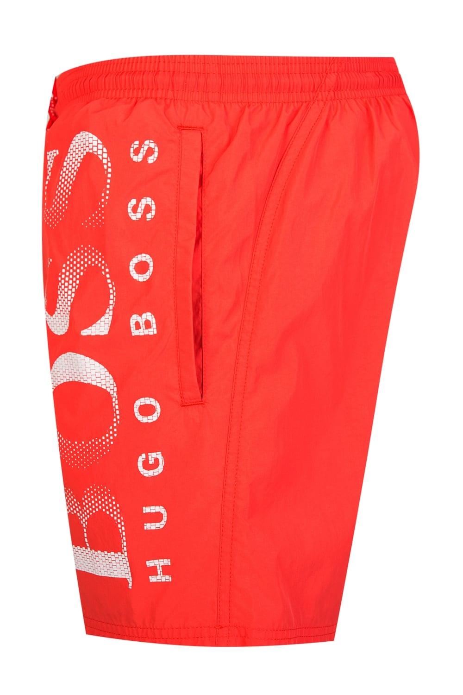 fbf5782b0 Hugo Boss Octopus Swim Shorts Red