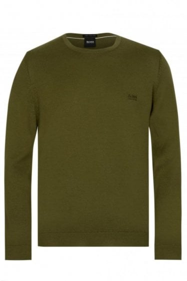Hugo Boss Pacas-L Jumper Green