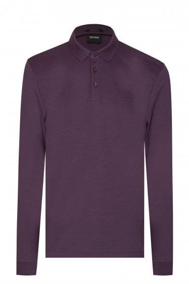 332bb45d Hugo Boss Pado 11 Long Sleeved Polo Shirt