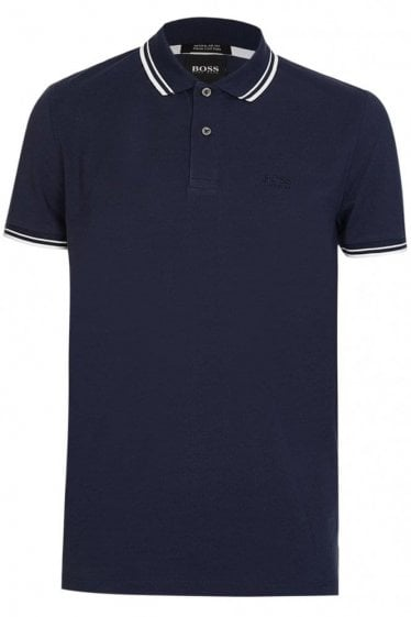 Hugo Boss Parlay 16 Short Sleeve Polo Navy