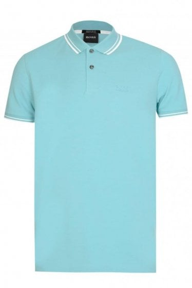Hugo Boss Parlay 16 Short Sleeve Polo Sky