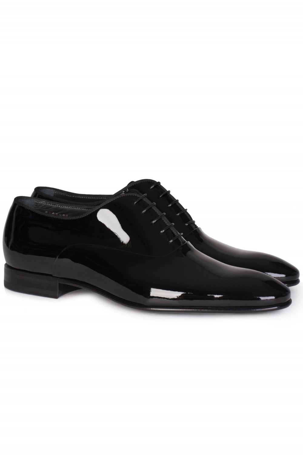 b57882687e402 BOSS Hugo Boss Patent Leather Oxford Shoes - Clothing from Circle ...