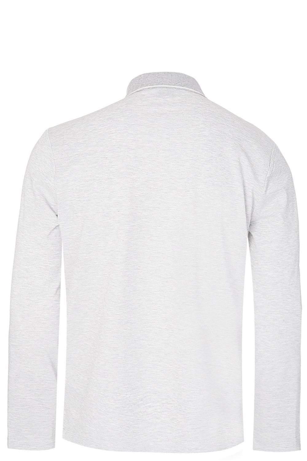 77950d0b5 BOSS Hugo Boss Pearl 03 Long Sleeved Polo Grey - Clothing from ...