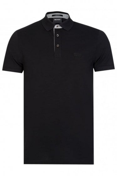 Hugo Boss Penrose 14 Short Sleeve Polo Black