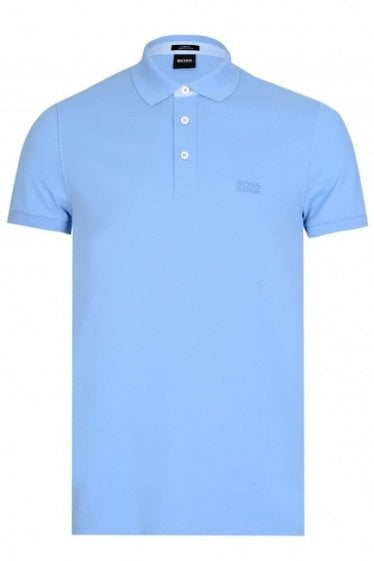 Hugo Boss Penrose 14 Short Sleeve Polo Blue