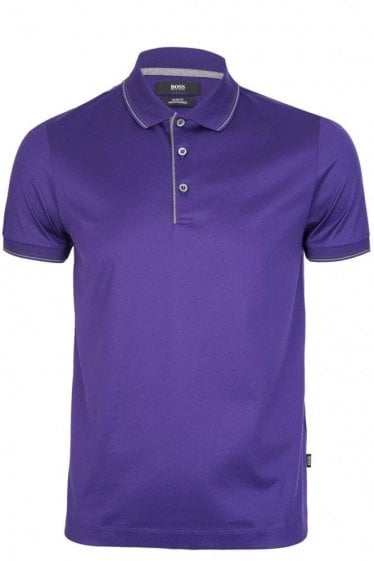 Hugo Boss Phillipson 05 Short Sleeved Polo Purple