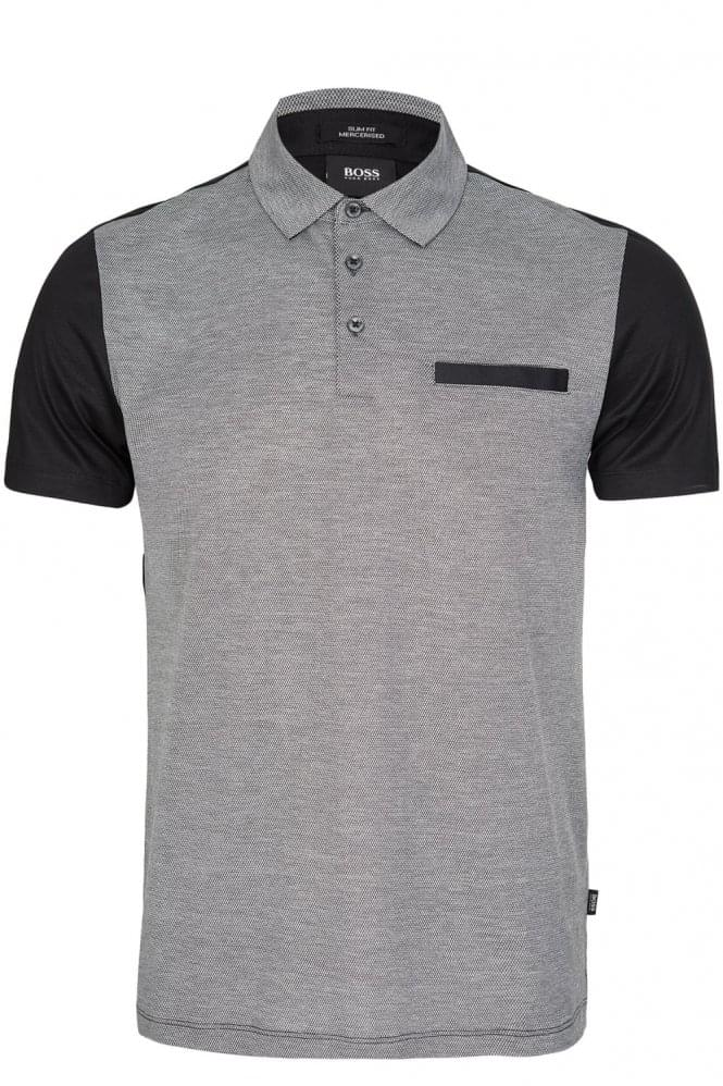 HUGO BOSS Place 11 Polo Black
