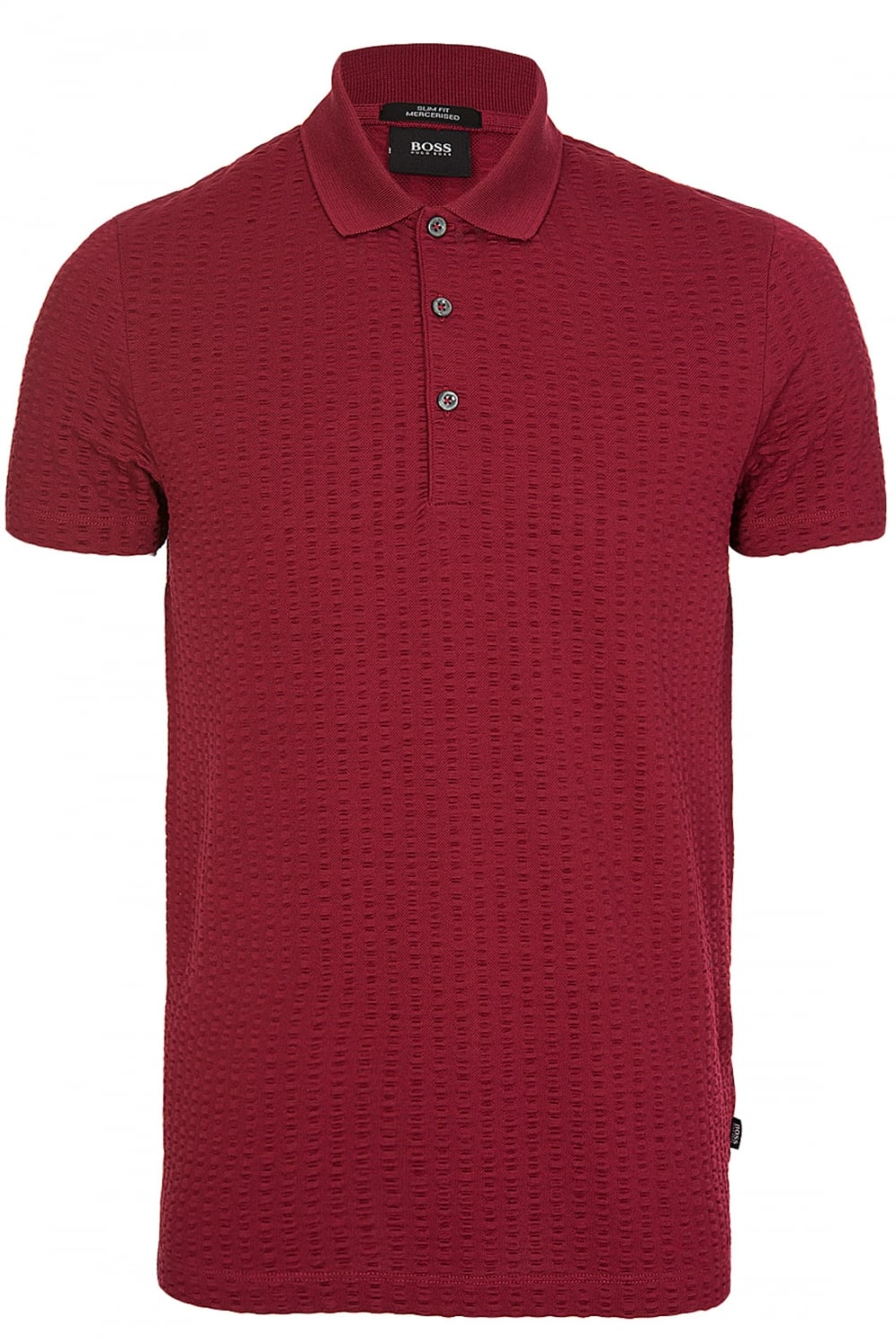 4a0662dd72c BOSS Hugo Boss Plater 01 Polo Red - Clothing from Circle Fashion UK