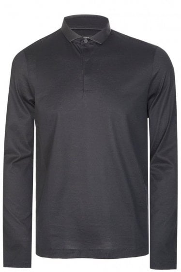 Hugo Boss Prall 06 Long Sleeved Polo