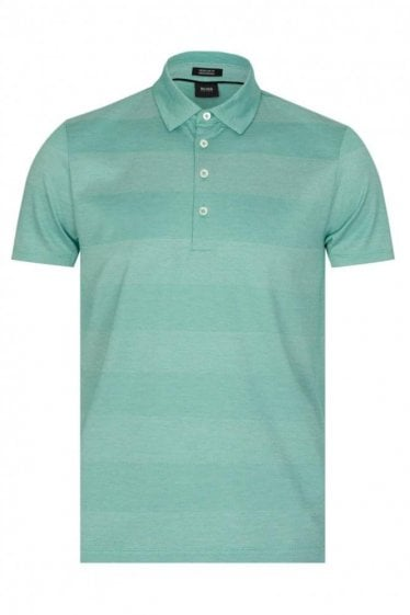 Hugo Boss 'Press 02' Polo Green