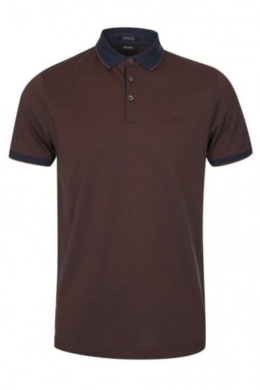 Hugo Boss Prout 10 Polo Burgundy