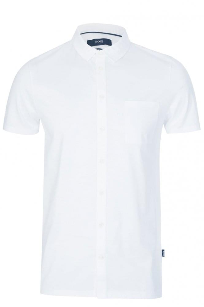 HUGO BOSS Puno 03 Slim Fit Shirt White