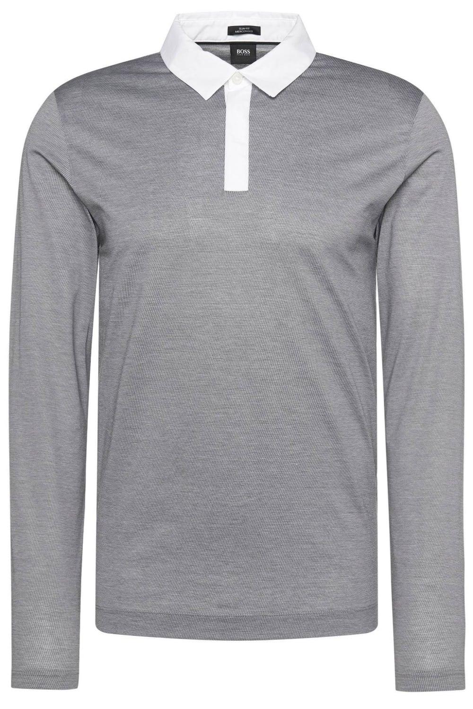 Hugo Boss Putney 01 Polo Shirt Grey