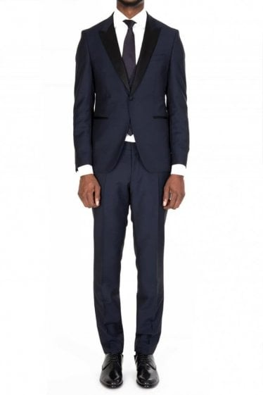 Hugo Boss Rendal/Wilden Three-Piece Suit Navy