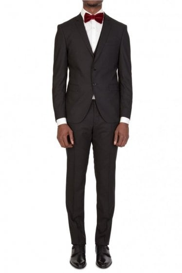 Hugo Boss Reymond/Wenton Three Piece Suit Black