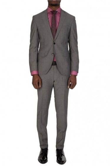 Hugo Boss Reyno1/Wave1 Suit Grey